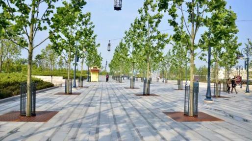 """[湖北]""""海绵城市""""花溪景观公共休闲绿地景观规划设计方案_7"""