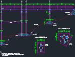 排涝站竖井排架设计图