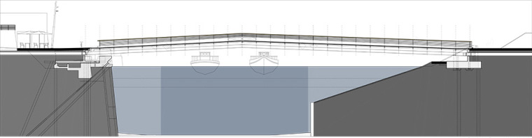 巴肯港步行桥景观平面图 (4)