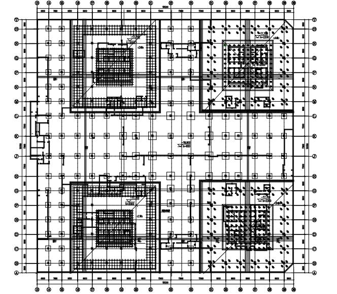 达美中心广场基础变刚度调平设计