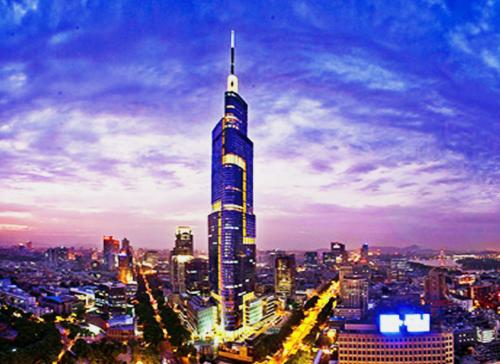 南京绿地紫峰大厦超高层混合结构设计