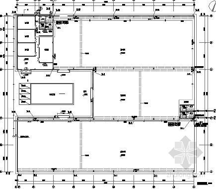 [山东]单层厂房给排水消防施工图