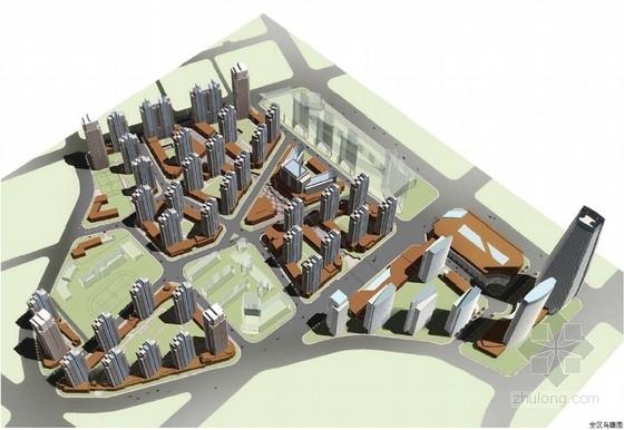 [大连]现代风格高密度城市综合体建筑设计方案文本