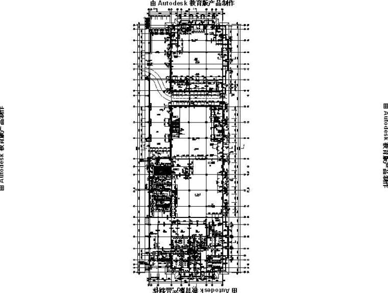 [内蒙古]四层新古典风格多功能文化中心建筑施工图(16年最新)_9