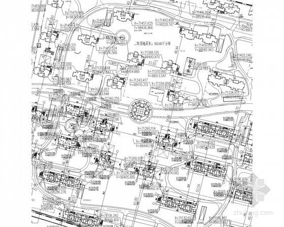 [安徽]高层住宅楼群给排水施工图
