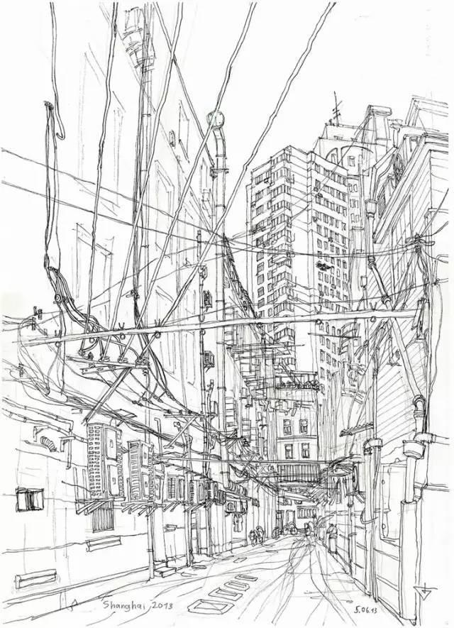 建筑手绘,国外设计师画的就是好看!_29
