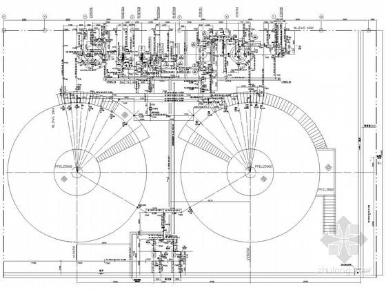 [山西]化工厂扩建工程施工图(管廊布置)