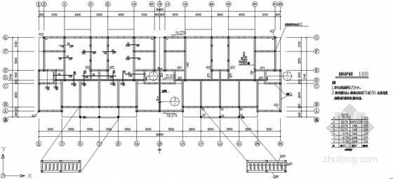 底层框架-抗震墙砌体住宅结构施工图