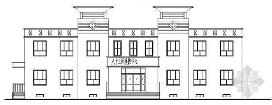 某市二层小型医院建筑施工图