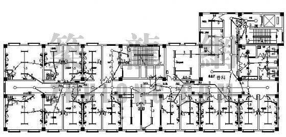 某医院电气照明设计图