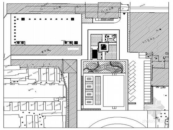[河北]职业中学校园景观设计施工图