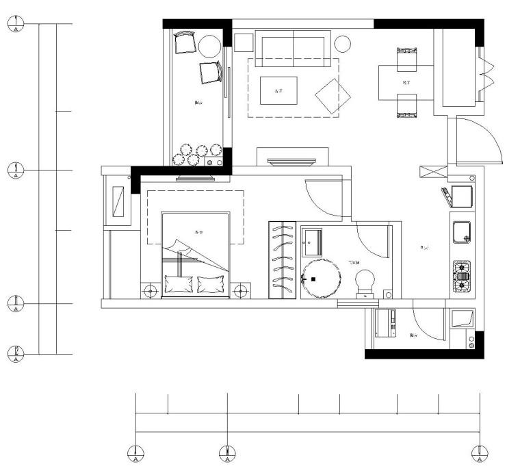 [辽宁]大连万达房地产样板间精装设计方案(附高清效果图)