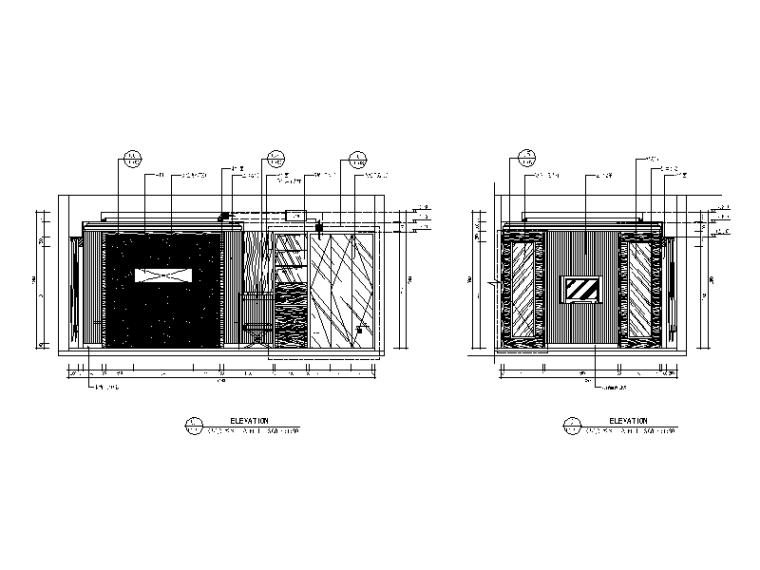 【福建】混搭风格检察院设计CAD施工图(含效果图)_2