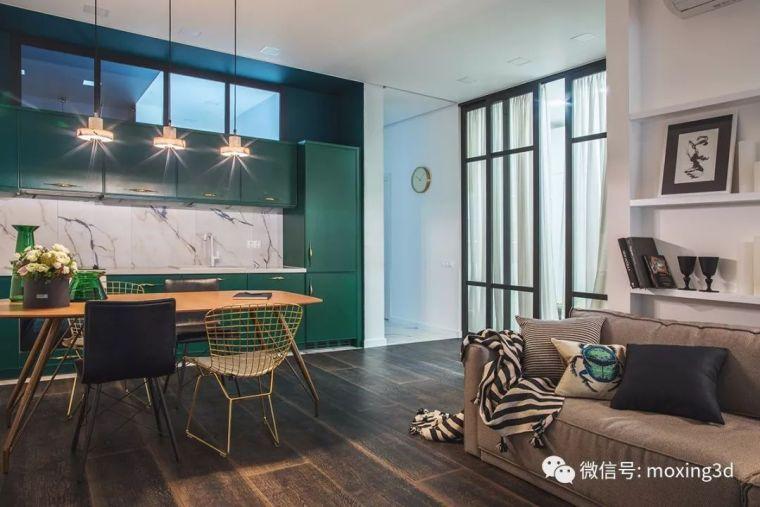 色彩灵动的北欧简约公寓,无可挑剔的美_8