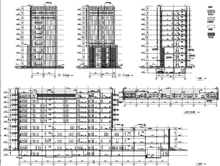 [安徽]某城市质监局建筑施工图设计图_2