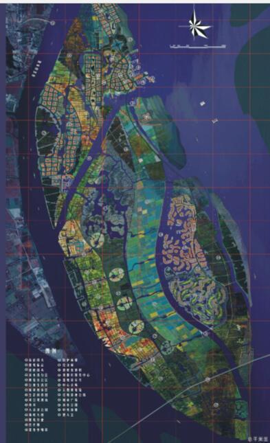 抚州市城市新区中心区控制性详细规划设计方案-总平面图