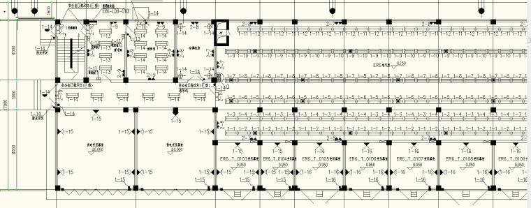 某项目电气室照明施工图