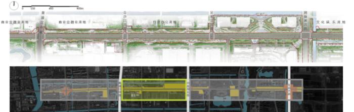 [合集]生活型商务大道景观设计方案(三家公司竞争方案)