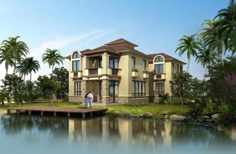 [浙江]14套两层新中式风格别墅项目建筑设计方案文本