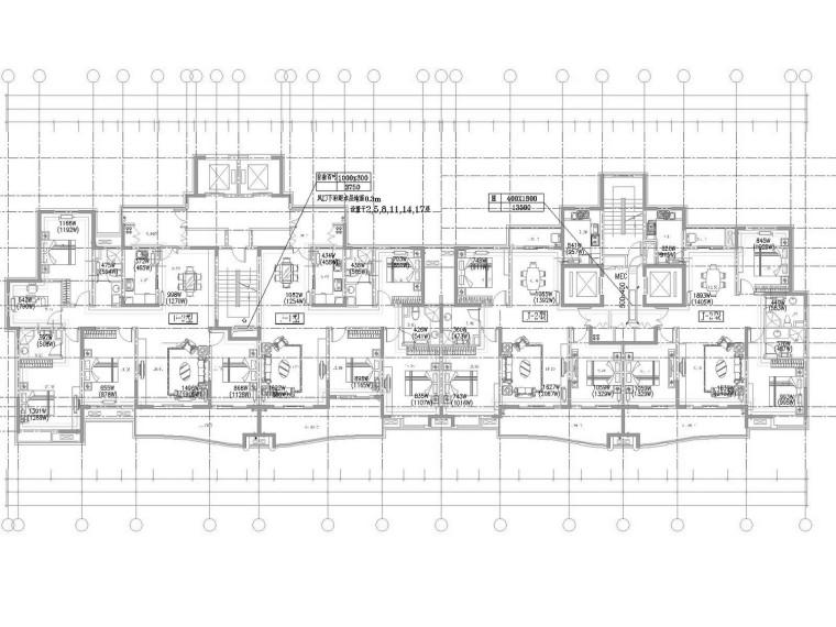 [河南]现代高层住宅小区采暖通风及防排烟系统设计施工图