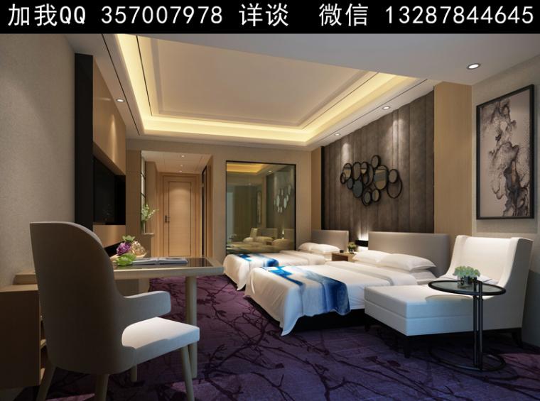 欧式风格酒店设计案例效果图