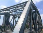 全钢结构铆接不等高桁架结构式桥梁钢桁架深化设计图74张CAD