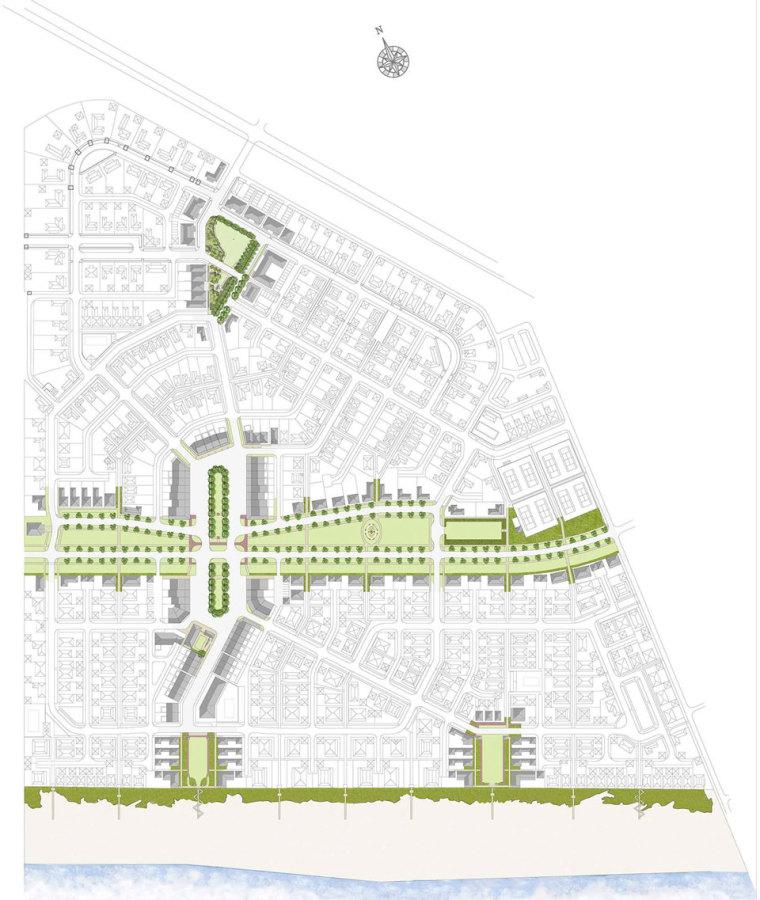 佛罗里达新城市主义社区公共景观设计_16