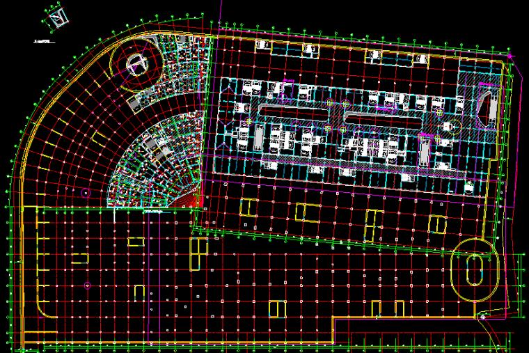 重庆恒大中央广场A区全套结构图纸_9
