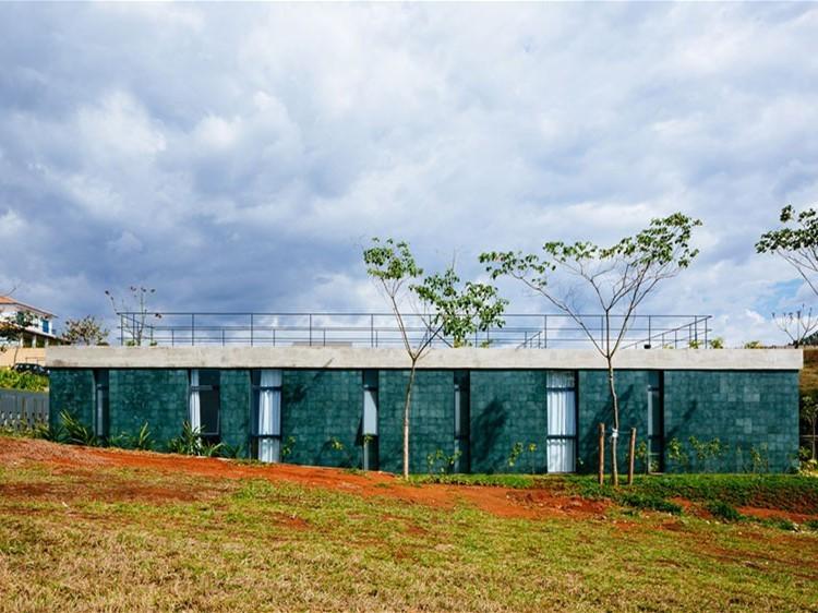 巴西露天庭院住宅