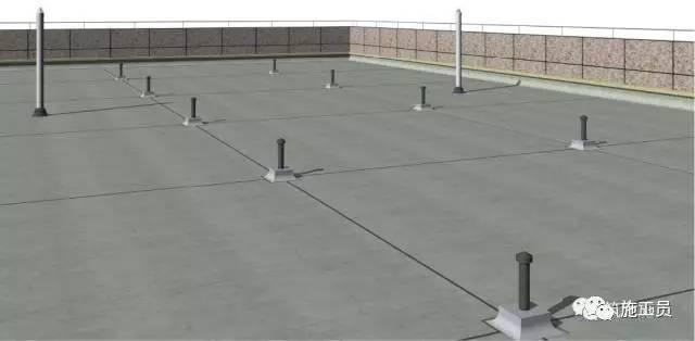 屋面工程施工工艺三维详解图,建议收藏!