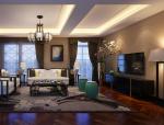 舒适欧式客厅3D模型下载