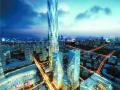 300名工人连续作战 年底将西部第一高楼建至40层高