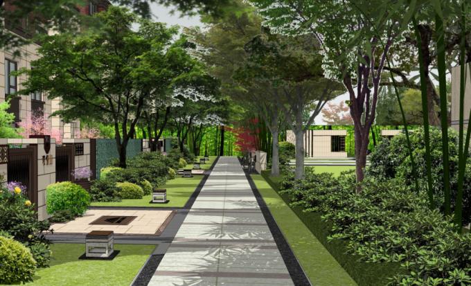 新亚洲风格_[方案][江苏]新亚洲风格住宅区景观案例文本(生态院落)
