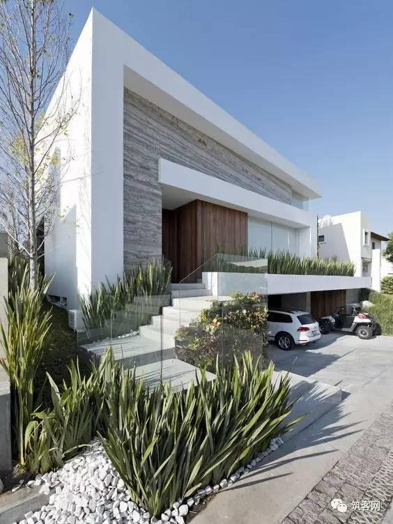 40款·简洁的现代别墅设计_12