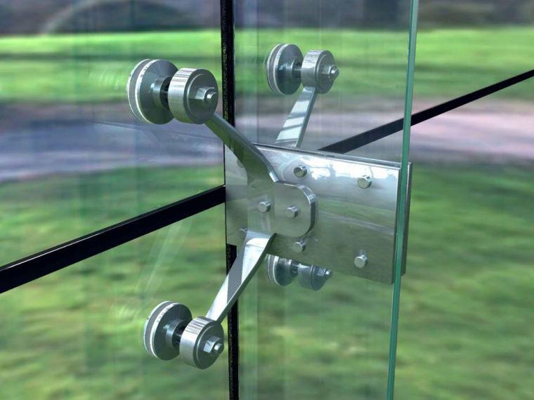 幕墙基础知识3-点支撑玻璃幕墙
