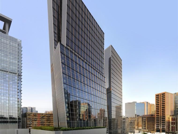香港观塘城东志办公建筑
