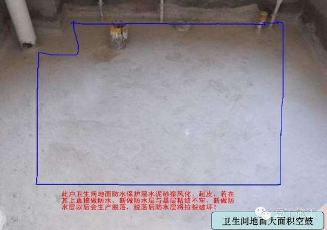 楼地面常见工程质量通病汇总