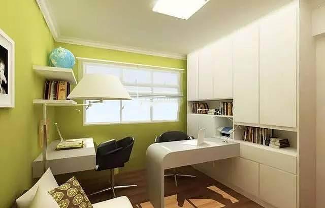 [磐石智造]小户型也有书房 小书房也有空间