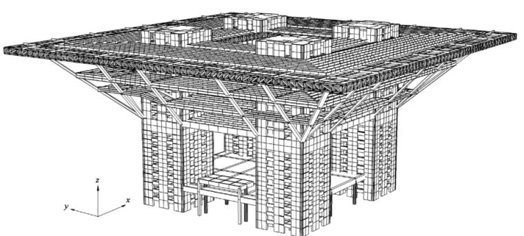 上海世博会中国馆结构弹塑性时程分析