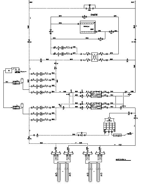 江西某地源热泵空调系统施工图(含地源热泵系统及大样等)_2