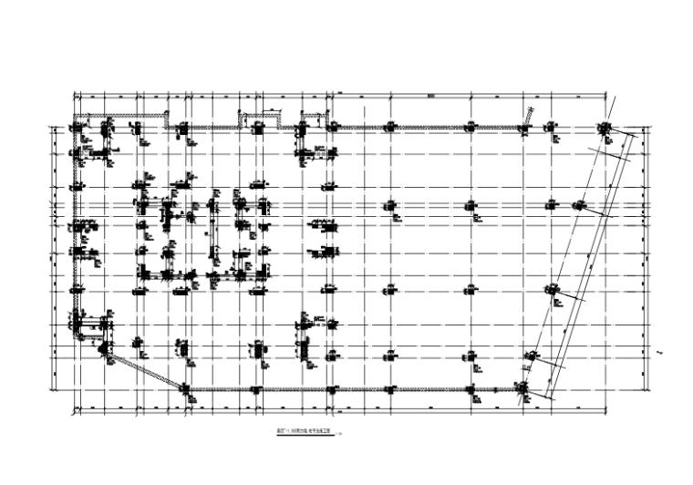 25层框架剪力墙结构综合楼建筑结构施工图-剪力墙、柱平法施工图