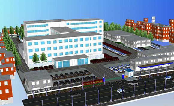 BIM技术应用于西南兵工医院装饰装修及安装工程