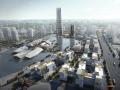 金湾航空城国际商务中心建筑设计竞赛