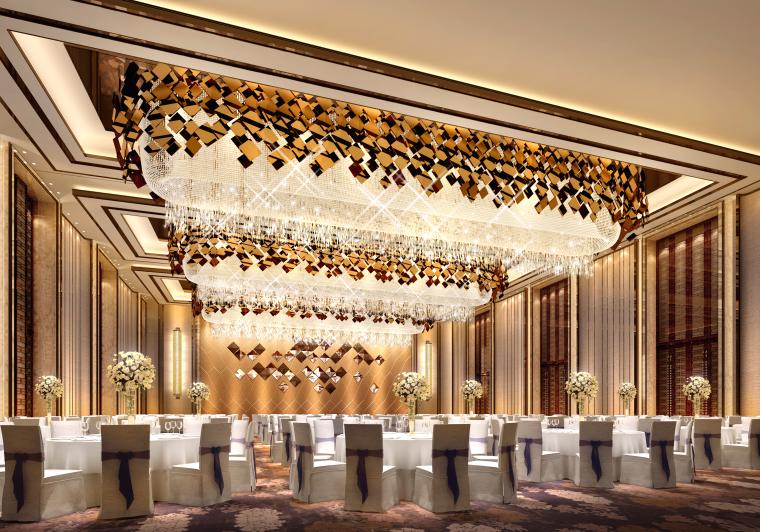 CCD--重庆华宇豪生酒店设计效果图