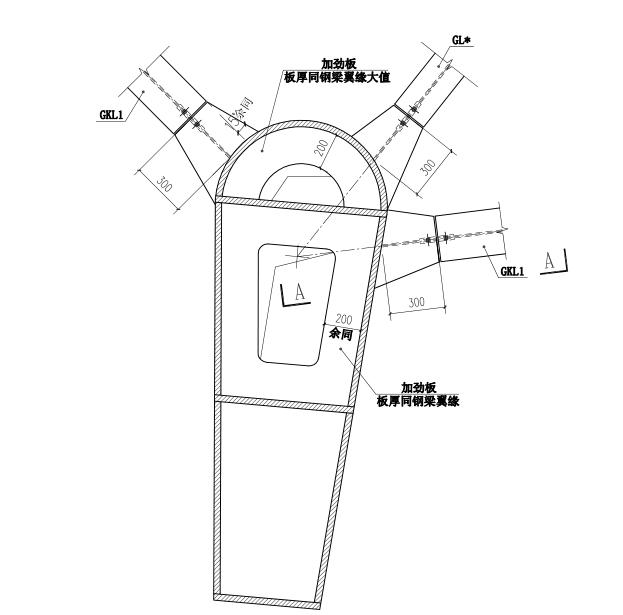 64层框架核心筒结构超高层大厦结构施工图(CAD、70张)_5