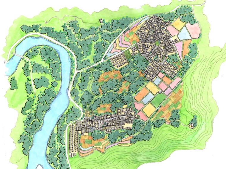 [北京]房山十渡国际旅游度假区总体规划设计方案