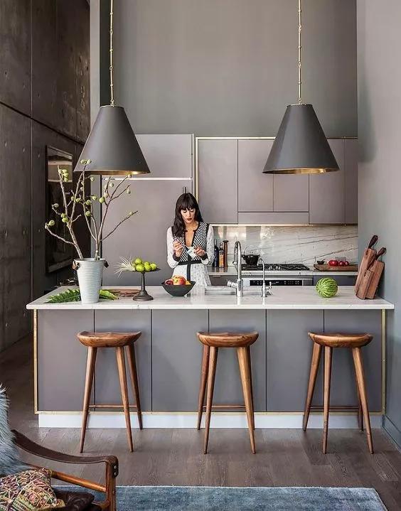 厨房比客厅还好看,让你爱上做饭!!_28