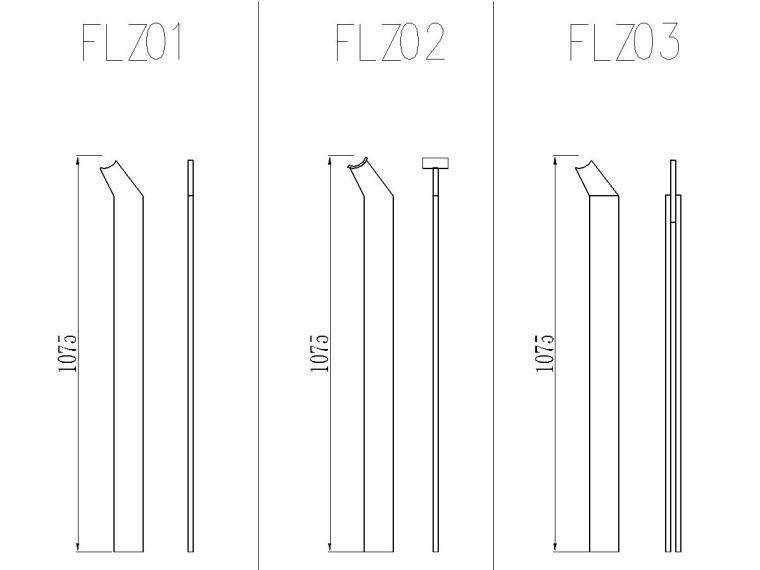 不锈钢扶手立柱施工图