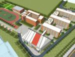 [安徽]多层现代风格36班小学扩建规划及单体建筑设计方案文本