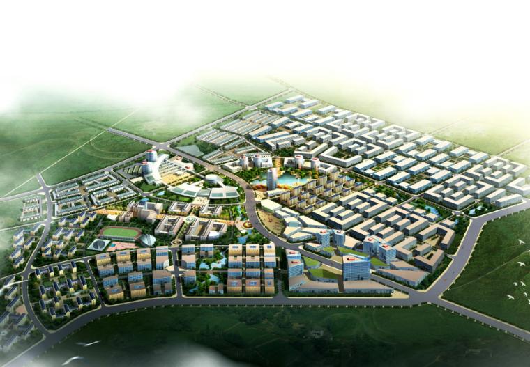 [福建]晋江国际夹克城概念规划及启动区城市设计方案文本